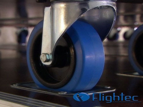 ruedas flight case